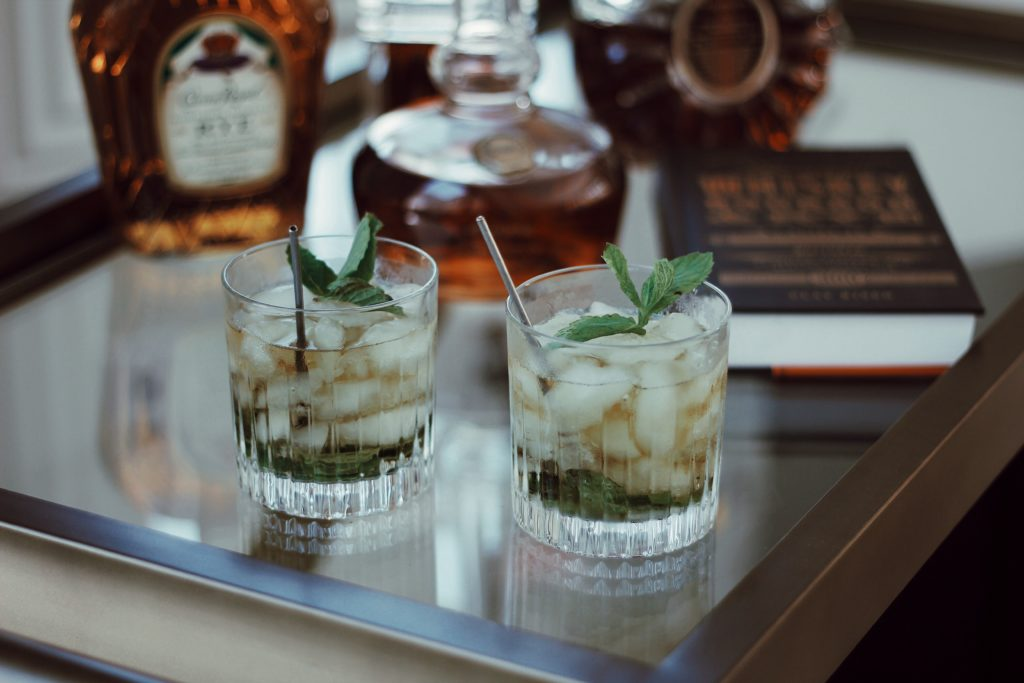 Leather to Lunch Classic Mint Julep